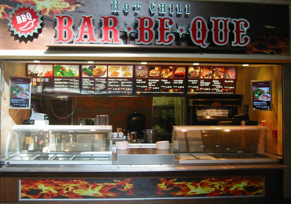 Hot Chili BAR-BE-QUE - CentrO Oberhausen.